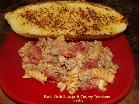 Pasta With Sausage & Creamy Tomatoes