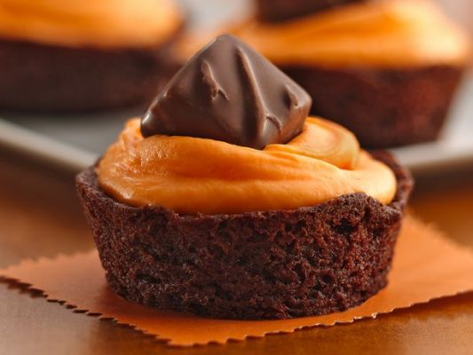 Betty Crocker Trick-or-Treat Brownie Cupcakes