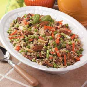 Vegetable Brown Rice
