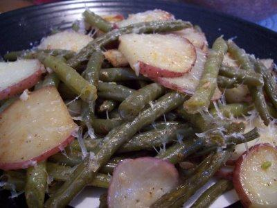Green Bean and Red Potato Packets