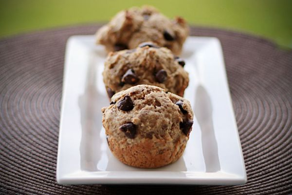 Chocolate Chip Sour Cream Made Over Muffins