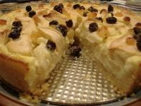 Rahmapfelkuchen (Apple and Rum Custard Cake)