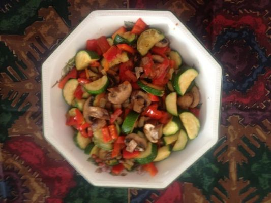 Medley of Zucchini and Mushrooms