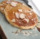 Mother's Day Apple Almond Pancakes
