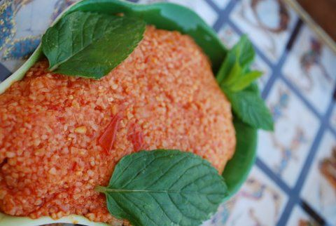 Itch (Armenian Bulgur Salad)