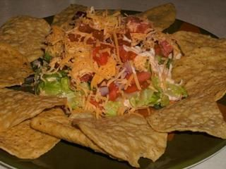 NO MEAT NO HEAT TACO SALAD