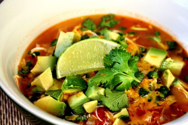 Jenny's Mexican Chicken Soup (Crockpot Style)