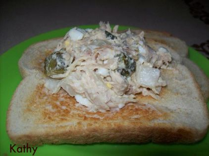 Kathy's Leftover Turkey Salad