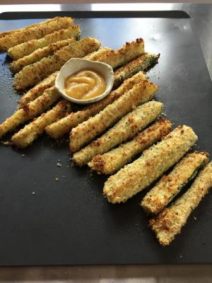 Oven Fried Zucchini Fries