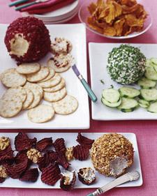 Cheese Balls Three Ways