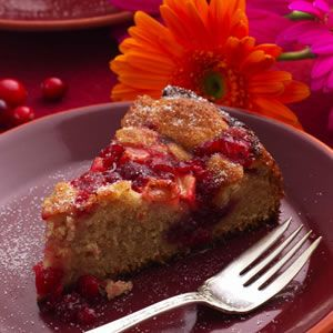 Cranberry-Apple Coffee Cake
