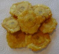 Tostones ( Green Fried plantain