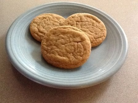 Dr. B's Big Soft Ginger Cookies, modified from Better Homes and Gardens magazine