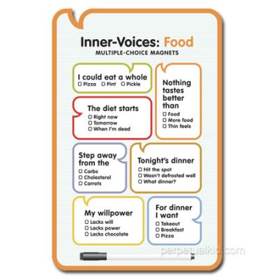 FOOD MAGNET INNER VOICE - http://www.perpetualkid.com/index.asp?PageAction=VIEWPROD&ProdID=2950&dc=bakespace
