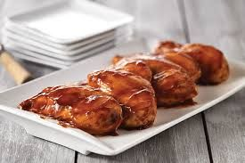 Skillet BBQ Chicken (Low in calories but good)