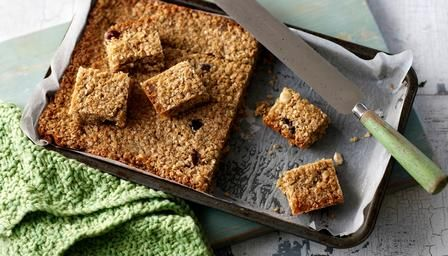 Great Nanna's Honey Nut Flapjacks