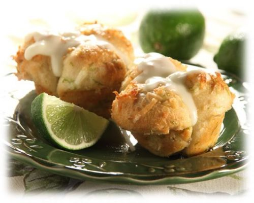 Coconut Lime Blossoms