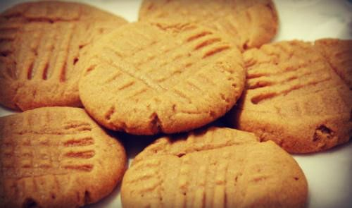 Simply Peanut Butter Cookies