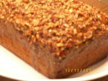Applepraline's APPLE PRALINE BREAD WITH PECANS