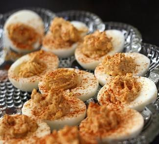 Deviled Eggs with Potted Meat