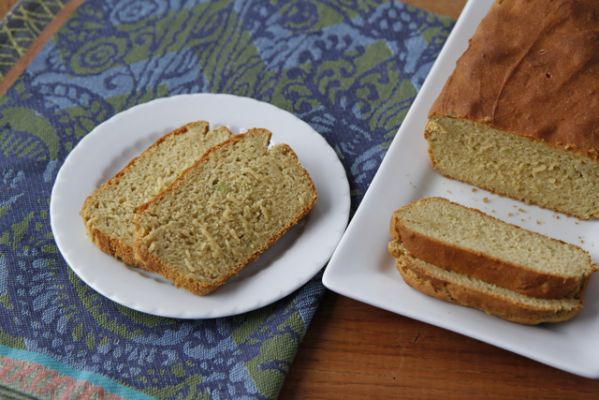 Learning To Eat Allergy Free's Gluten Free Nut Free, Soy Free Vegan Avocado Chickpea Quickbread