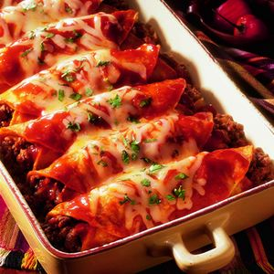 Beef Enchilada's (Chase's Favorite)