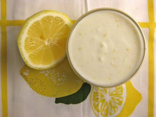 Lemon Yogurt Dressing
