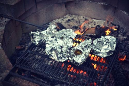 Camping Foil Packets