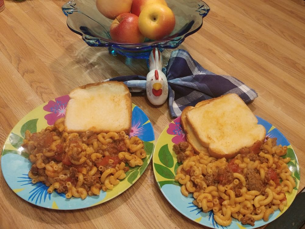 Kentucky Goulash with Macaroni submitted by Patricia Duarte Madisonville, KY