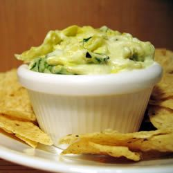 Artichoke Dip- the healthier version