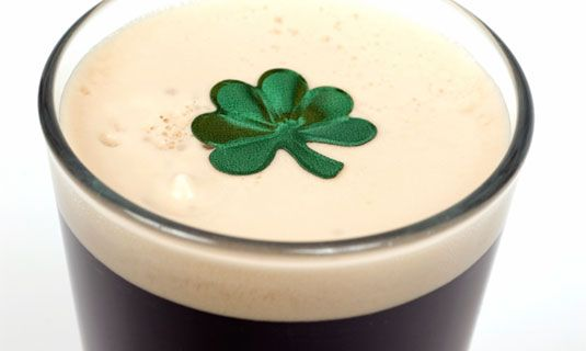 St. Patricks Day Dessert: Irish Car Bomb Brownies