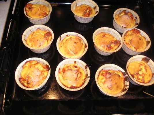 Nicole's Favourite Caramelised Shallots and Parmigiano Muffins