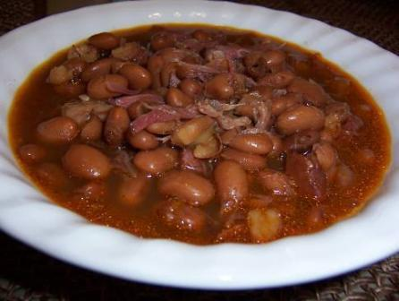 Crockpot Ham Hocks and Beans