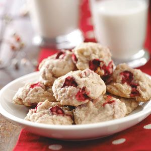 Cranberry Nut Cookies