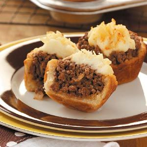 Easy Mini Shepherd's Pies