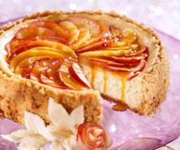 Toffee Apple Cheesecake