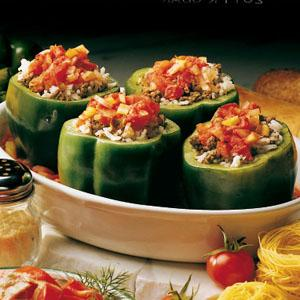 The BEST Stufffed Bell Pepper~ T-N-T