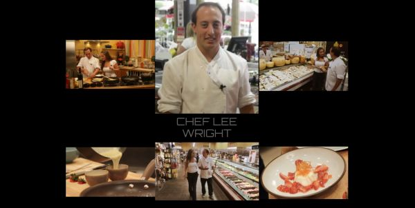 Chef Lee Wright the Host of THE WRIGHT WAY television show