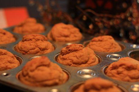 Pumpkin Banana Muffins On
