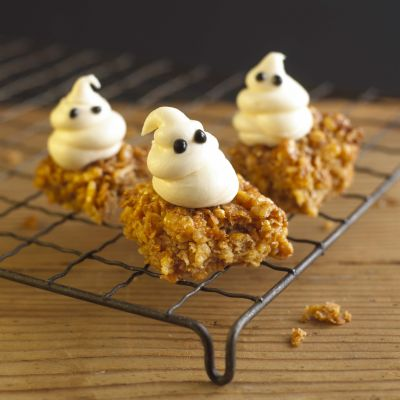 GHOSTY MALLOW FLAPJACKS