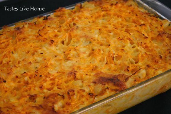 Macaroni Pie Recipe - BakeSpace