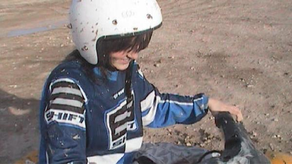 9th grade; riding an atv during the winter