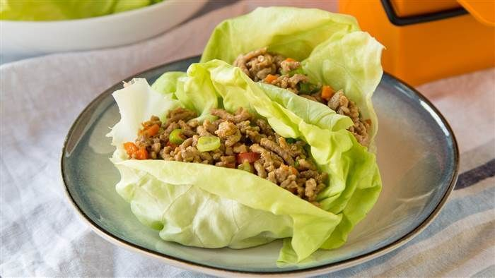 Make-Ahead Lettuce Wraps