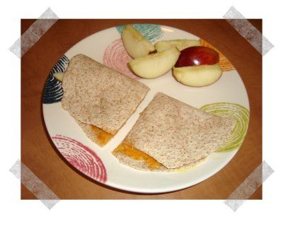 Cheese & Apple Quesadillas