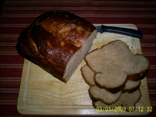 Honey Harvest Wheat Bread