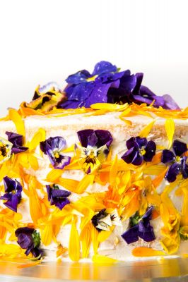 Floral Bloom Layer Cake