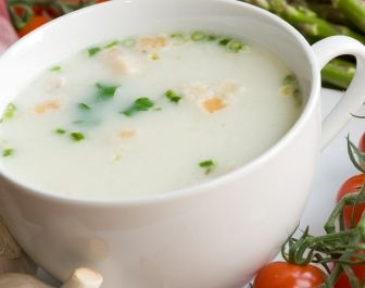 Angel Acres Cream of Rockfish Soup