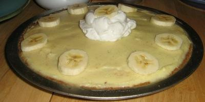 Kick Ass Banana Cream Pie