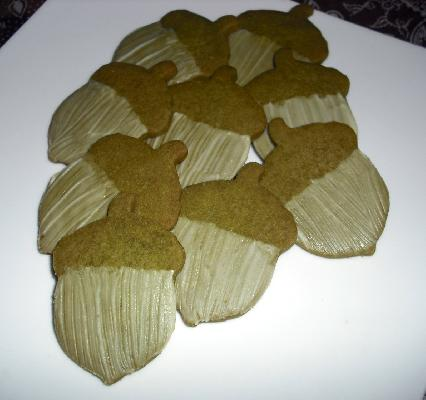 Green Tea Shortbread Cookies