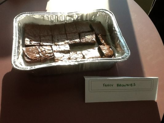 Matt's Pr's Fancy Brownies, modified from Duncan Hines